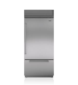 Sub Zero top and bottom refrigerator repair